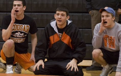 Down the stretch: wrestling