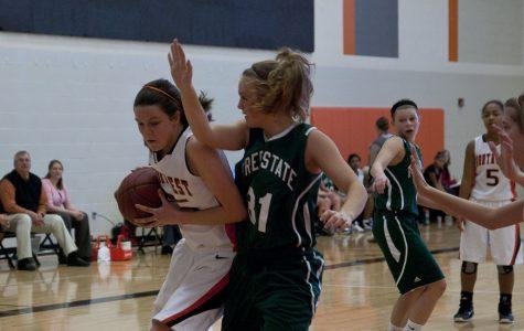 Freshmen girls' basketball [Photo of the Day]