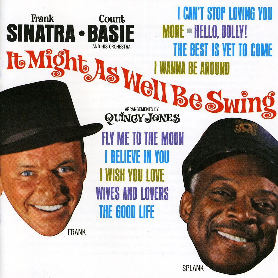 Frank Sinatra It Might As Well Be Swing