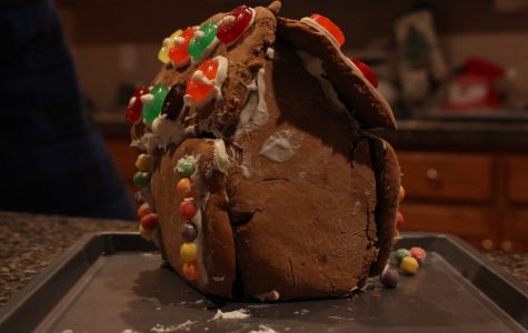 Gingerbread house making: the reality