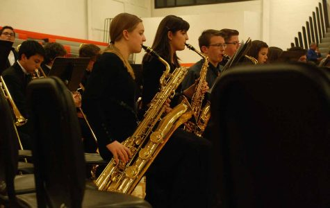 Bands perform at the NW Area Band Festival