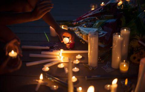Vigil for Treyvon Mays held at Lakeview Estates