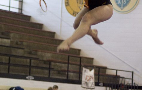 Mary Graves at a previous gymnastics meet.
