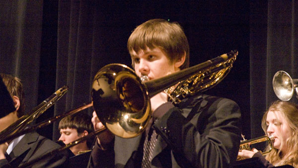 Band concert on Dec. 10