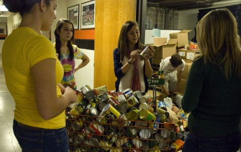 Jantsch's fifth hour class wins  canned food drive competition