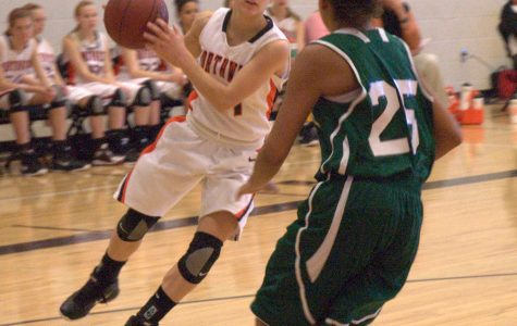 Sophomore girls' basketball [Photo of the Day]
