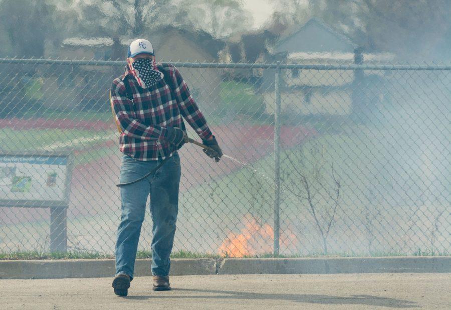 Environmental Ed. Prairie Burn