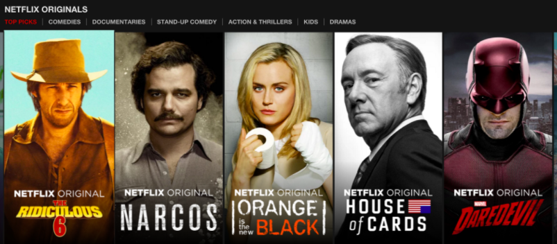 Netflix Unoriginals