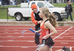 Track team breaks records at SM North Relays
