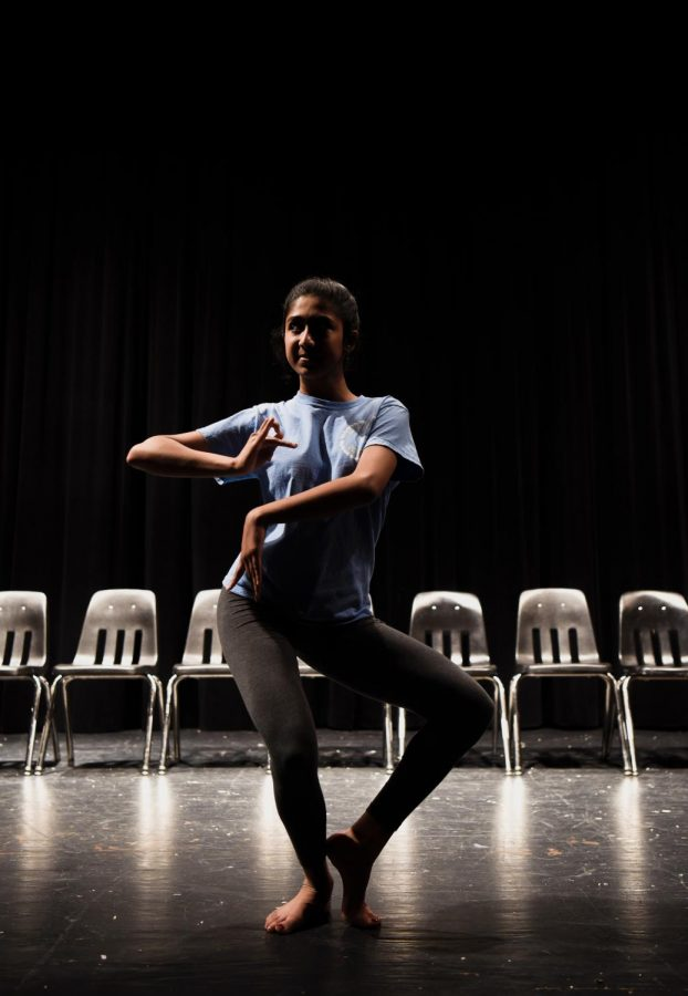 All but one day a week, Patel expresses her love for dance, and honors her culture in the dance studio.