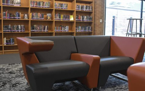 The newly renovated library will soon be open for business