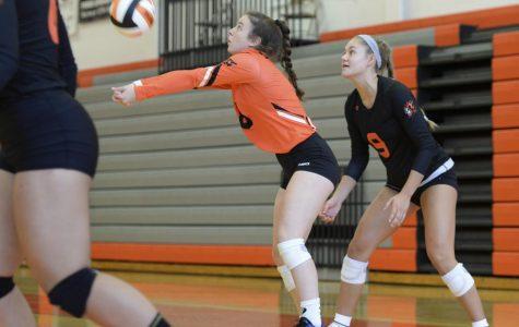Varsity volleyball welcomes freshman Vivian Kieffer