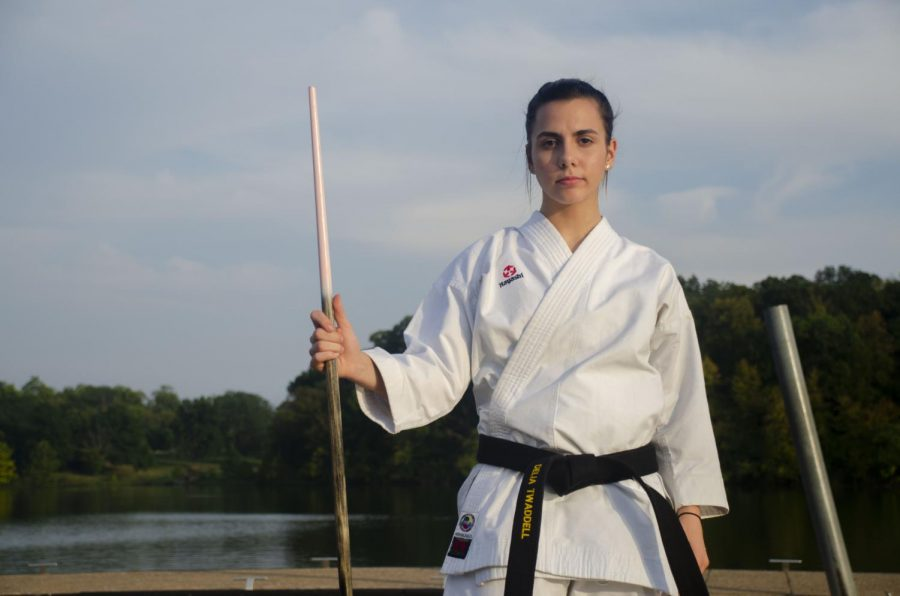 Delia Twaddell challenges stereotypes about females in martial arts
